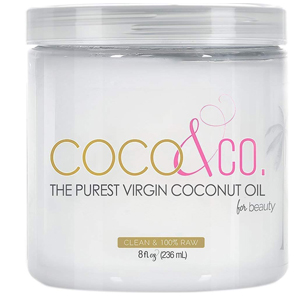 COCO & CO Organic Pure Extra Virgin Coconut Oil for Hair & Skin