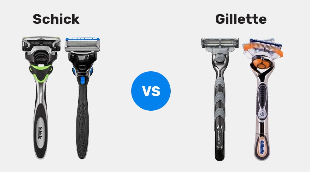 Schick Vs. Gillette